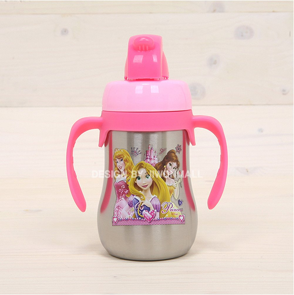 Disney Princess Sten Straw Water Bottle 036225 рюкзаки disney princess мешок для обуви disney princess