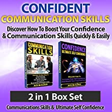 Confident Communication Skills: Discover How to Boost Your Confidence & Communication Skills Quickly & Easily: 2 in 1 Box Set (       UNABRIDGED) by Ace McCloud Narrated by Joshua Mackey