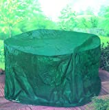 "Large 7' Foot 5"" Round Patio Garden Furniture Set Cover"