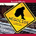 Negocios Audiobook by Junot Díaz Narrated by Jean-Marc Berne