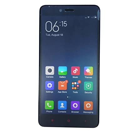"""XIAOMI REDMI NOTE 2 5.5"""" FHD MTK6795 64-bit Octa-core 4G LTE Téléphone 13MP CAM 2GO RAM 16GO ROM (Blanc)"""