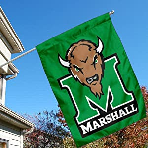 Buy Marshall Thundering Herd Banner House Flag by College Flags and Banners Co.