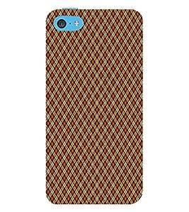 Chevron Cross Design 3D Hard Polycarbonate Designer Back Case Cover for Apple iPod Touch 6 (6th Generation)