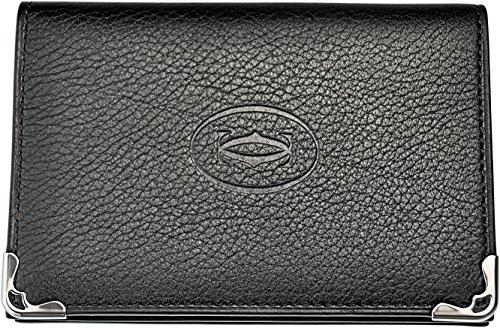 Cartier 【カルティエ】 L3001367 ブラック カードケース MUST 名刺入れ