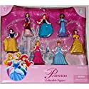 Disney Princess Figurine Figure Set (Glitter Princess)