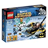 LEGO Arctic Batman vs. Mr. Freeze Aquaman On Ice Super Heroes Set 76000