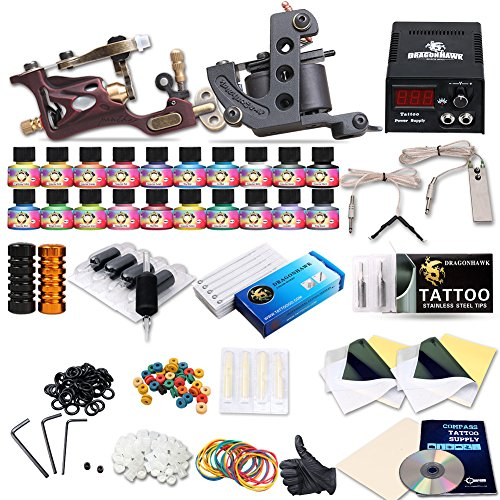Tattoo kit tattoo supply for European Countries needles Inks