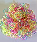 Indigo Loom Bands 300 or 600, Rainbow...