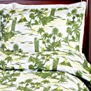 Sin In Linen Hawaiian Tiki Comforter Twin