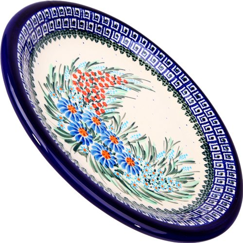 Polish Pottery Ceramika Boleslawiec 1103/169 Dinner Plate 26, 10-1/4-Inch (Polish Decorative Plates compare prices)