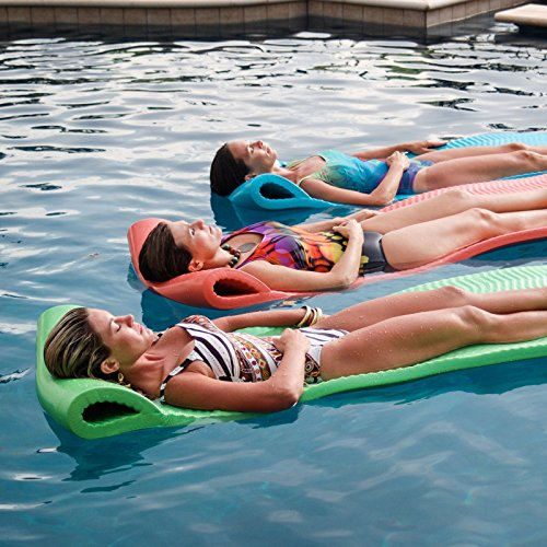 Texas recreation serenity pool float one size teal home for Pool floats design raises questions
