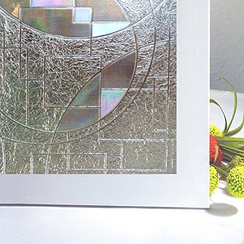Rabbitgoo® Superior No-Glue 3D Static Illuminative Privacy Window Films,23.6In X 78.7In.(60 x 200Cm) (Glass Door Privacy Film compare prices)