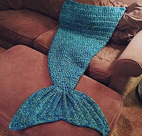 Knitting Pattern For Baby Mermaid Blanket : Mermaid Tail Blanket Pattern - Fadfay Mermaid Blanket Knitting Pattern Blanke...