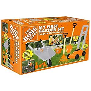 The Home Depot My First Garden Set By Toys R Us