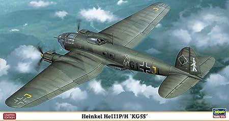 Maquette avion: He111P/H KG55