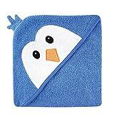 Luvable Friends ラバブルフレンズ Animal Face Hooded Towel アニマル フェイス フード付きバスタオル Blue Penguin ブルーペンギン ランキングお取り寄せ