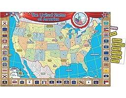 Teacher Created Resources U.S. Map Bulletin Board Display Set (4403)