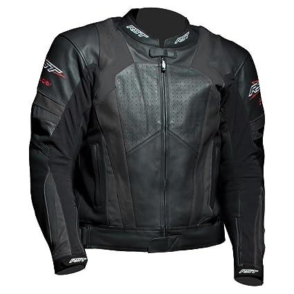 Nouvelle RST 1055 lame veste de moto en cuir noir