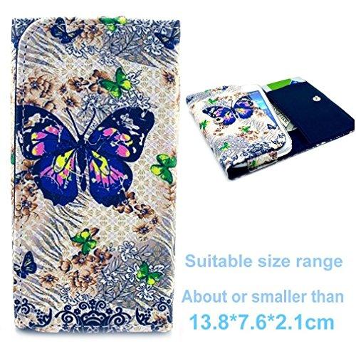 (3#S) Portemonnaie PU-Leder Multipurpose