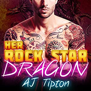 Her Rock Star Dragon - A BBW Paranormal Romance Audiobook