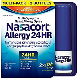 Nasacort Nasal Spray, 240 Count