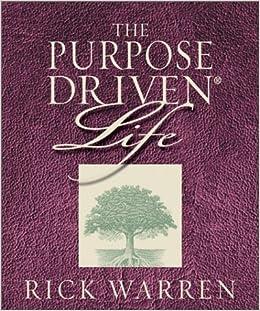 book report on the purpose driven church