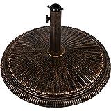 Sonnenschirmständer Gusseisen bronze