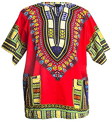 Men's Dashiki Oversized Shirt