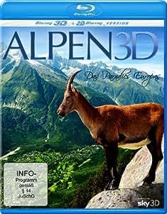 Alps 3D - Paradise of Europe (3D & 2D) [ Origine Allemande, Sans Langue Francaise ] (Blu-Ray)