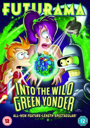 Futurama Into The Wild Green Yonder [DVD]