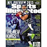 Russell Wilson Seattle Seahawks Autographed Sports Illustrated Magazine - Mounted Memories Certified at Amazon.com