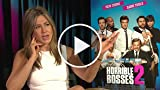 Horrible Bosses 2: Jennifer Aniston Interview Part 1