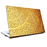 Laptop Skins 15.6 Inch - Golden Gold - HD Quality - Dell-Lenovo-Acer-HP