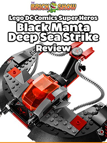 LEGO DC Comics Black Manta Deep Sea Strike Review (76027)