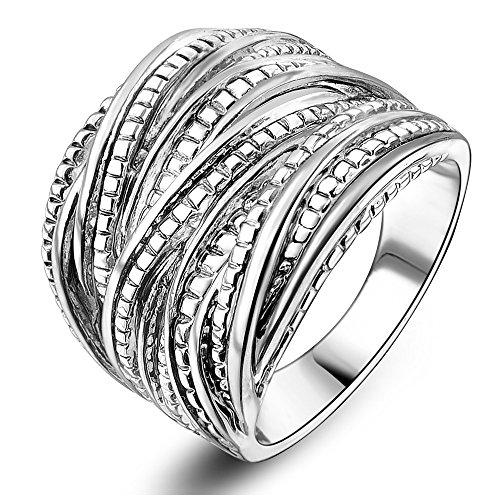 Mytys-Rhodium-Plating-Retro-Vintage-Silver-Interwined-Design-Fashion-Rings