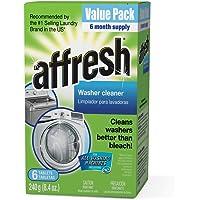 6-Tablets Affresh Washer 8.4 oz Machine Cleaner