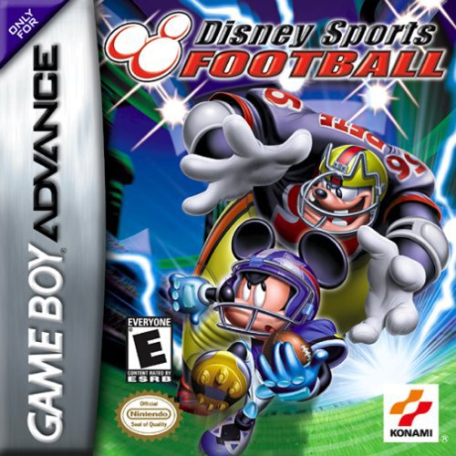 Disney Sports Football (Disney Gameboy Advance Games compare prices)