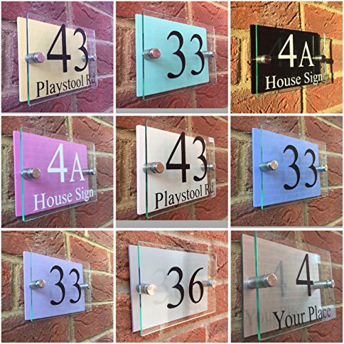 moderne-house-sign-plaque-de-porte-numero-rue-dos-couleur-pastel