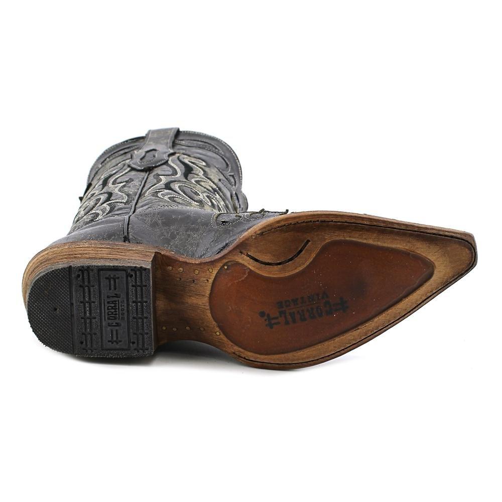 Corral Men's Vintage Lizard Inlay Cowboy Boots 2