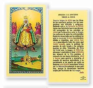 Amazon.com: Oracion a La Santisima Virgen De Regla Tarjeta