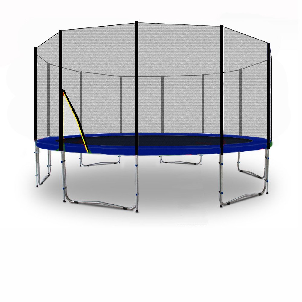 BL-T370-KS12 (BD) Garten- Trampolin 370cm, Netz UV-Resistant, Leiter, Anker & Plane – TÜV/GS/CE kaufen