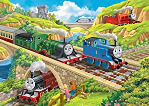 Amazon Com Ravensburger Thomas And Friends Busy Day On