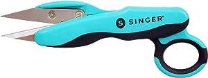 SINGER Bundle - Detail Scissors, Thread Snips, Seam Ripper (Teal) (Color: Teal)