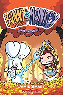Book Cover: Bunny vs. Monkey: Book Two