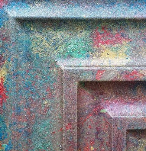 PL05imitation peinture Old superbe coloré Plafond Panneaux Muraux Décoration Carrelage en relief fond photosgraphie 10pieces/Lot