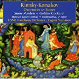 Rimski-Korsakov : Ouvertures et suites. Svetlanov