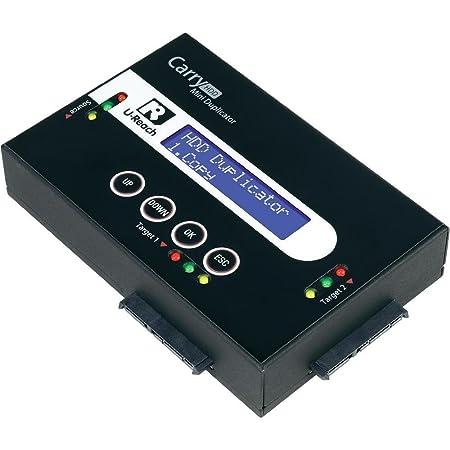 Station de copiage pour disque dur 2x U-Reach HDD PRO 218 SATA avec fon