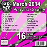 All Star Karaoke March 2014 Pop and Country Hits B (ASK-1403B)