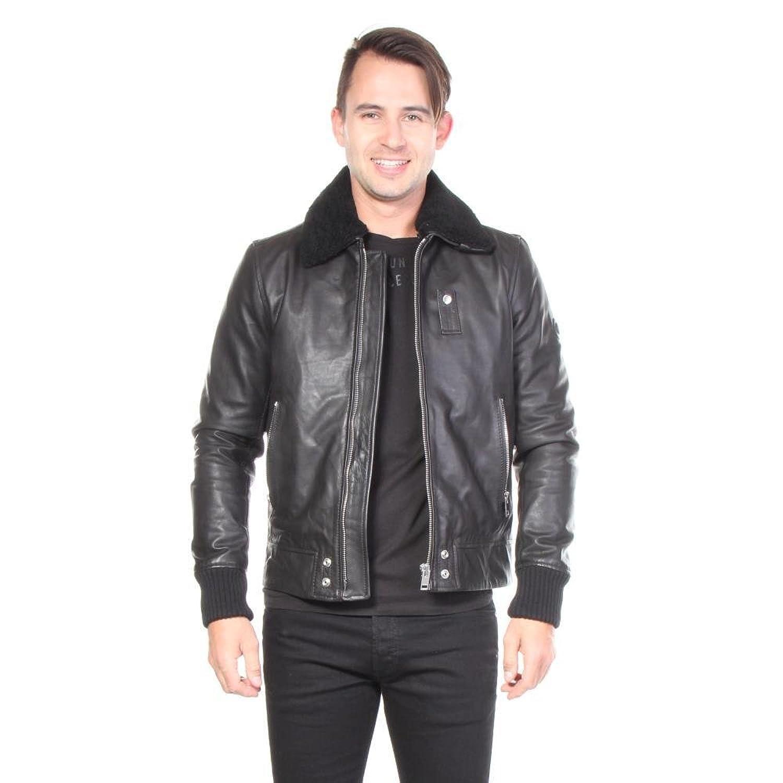 Diesel Jacken L-Maverick Leder Leather Herren günstig kaufen