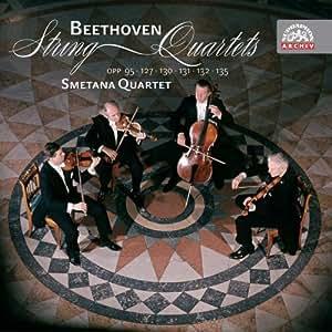Beethoven : Quatuors à cordes Op. 95, Op. 127, Op. 130, Op. 131, Op. 132, Op. 135
